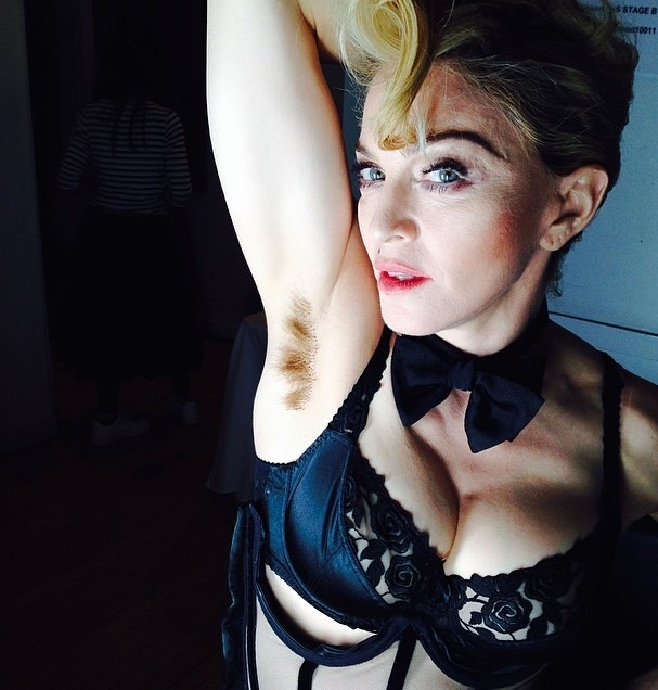 the cabal magazine madonna armpit hair