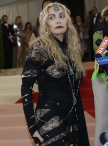 the cabal magazine madonna red carpet